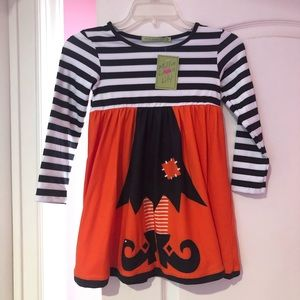 NWTS Halloween 🎃 witch dress 6 adorable Boutique